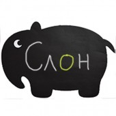 Меловая наклейка «Слон»